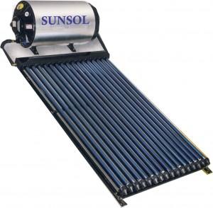sunsol high pressure solar geyser